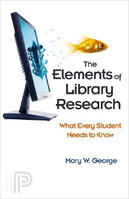 Book cover for The elements of library research.