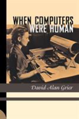 book cover: When Computers Were Human