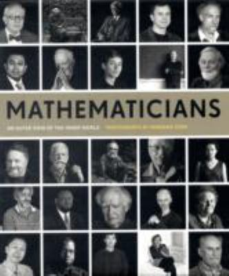 book cover: Mathematicians : an outer view of the inner world