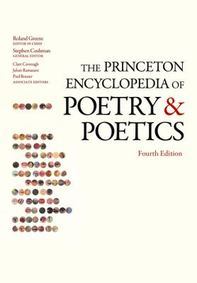 Book Cover for The Princeton Encyclopedia of Poetry and Poetics