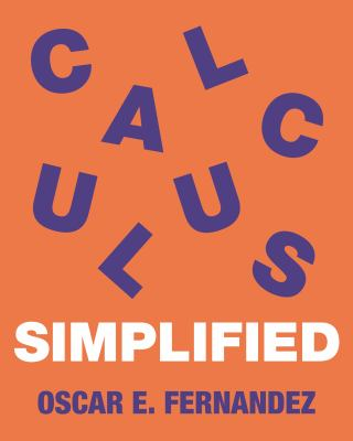 book cover - Calculus Simplified
