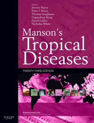 book cover for Manson's Tropical Diseases