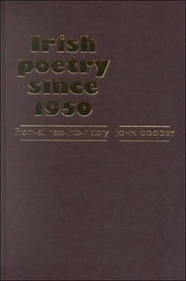 Cover Art for Irish Poetry since 1950