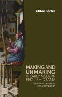 Making and Unmaking in Earl...