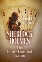 Cover image for Sherlock Holmes : the four-handed game