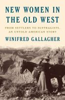 New Women in the Old West book cover