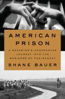 American Prison cover