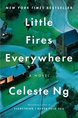 Book cover for Little fires everywhere.