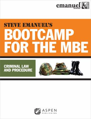 Link to Bootcamp for the MBE - Criminal Law and Procedure