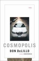 """""""Cosmopolis"""" book cover"""