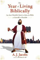 Book cover for The Year of Living Biblically