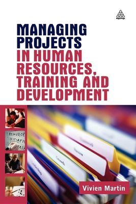 Book jacket for Managing Projects in Human Resources, Training and Development