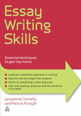 Book cover image for essay writing skills