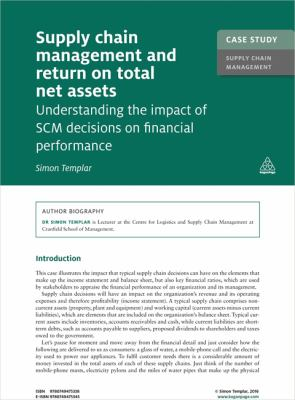 Supply Chain Management and Return on Total Net Assets : Understanding the Impact of the SCM Decisions on Financial Performance - Opens in a new window