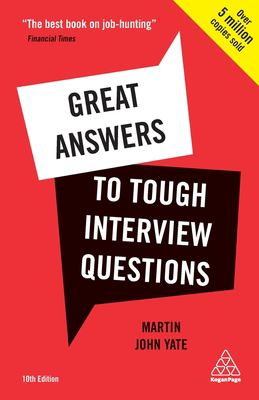 Great Answers to Tough Interview Questions Cover