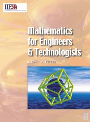 book cover: Mathematics for Engineers and Technologists