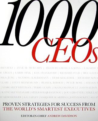 Book jacket for 1000 CEOs