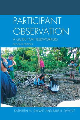 Participant Observation: A Guide for Fieldworkers Kathleen Musante (DeWalt) and Billie R. DeWalt