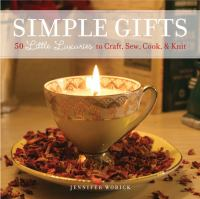 Simple Gifts book cover