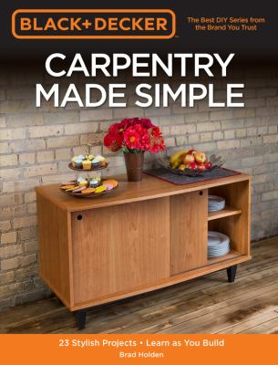 Carpentry Made Simple Cover Art