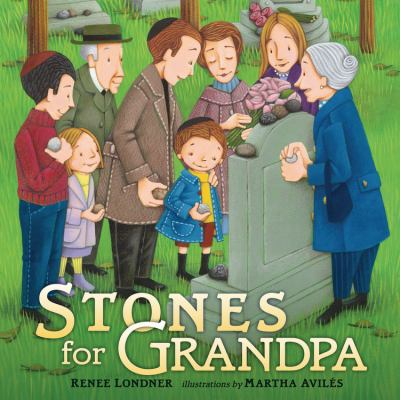 Cover Art for Stones for Grandpa