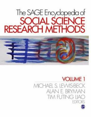 Book jacket for The SAGE Encyclopedia of Social Science Research Methods
