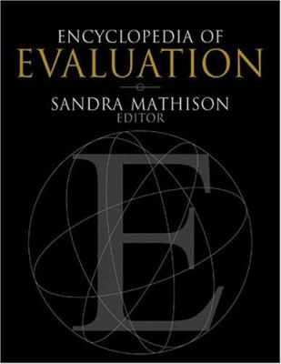 Book jacket for Encyclopedia of Evaluation