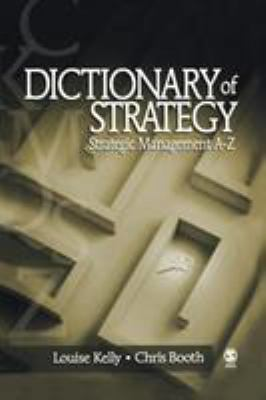 Book jacket for Dictionary of Strategy