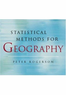 book cover: Statistical Methods for Geography (2001)