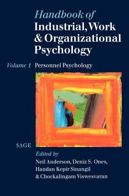 Book jacket for Handbook of Industrial, Work and Organizational Psychology (Vol. 1)
