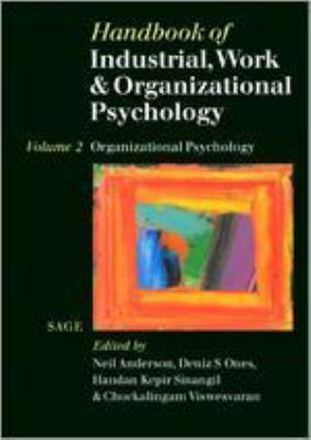 Book jacket for Handbook of Industrial, Work & Organizational Psychology (Vol. 2)