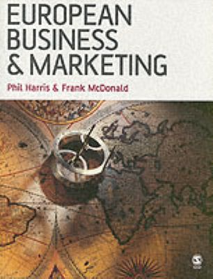 Book jacket for European Business and Marketing