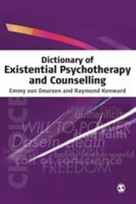 Book jacket for Dictionary of Existential Psychotherapy and Counselling