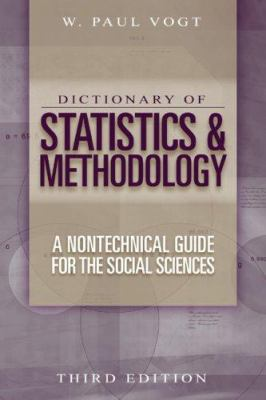 Book jacket for Dictionary of Statistics and Methodology