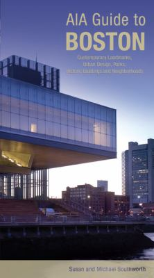 Cover art for the book, AIA Guide to Boston