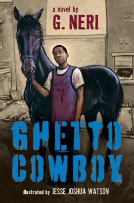 Ghetto Cowboy book jacket