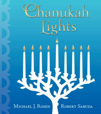 Cover Art for Chanukah Lights
