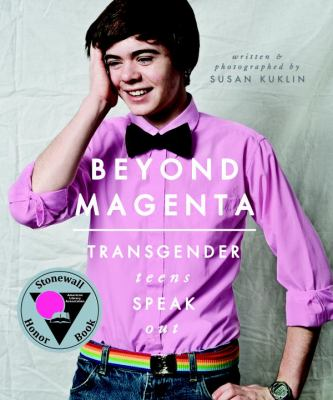 Book cover for Beyond magenta.