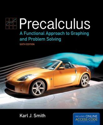 book cover: Precalculus: a functional approach to graphing and problem solving