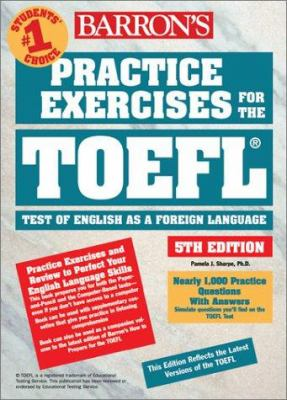 TOEFL books in the Library