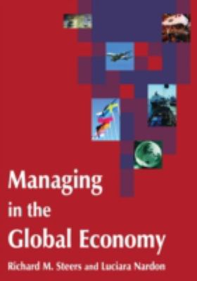 Book jacket for Managing in the Global Economy