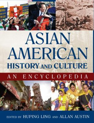 Book cover for Asian American history and culture.