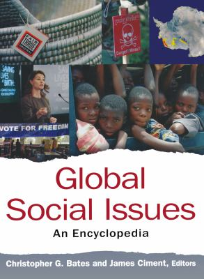 Book jacket for Global Social Issues: an Encyclopedia