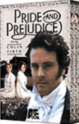 Cover Art for the A&E production of Pride and Prejudice.