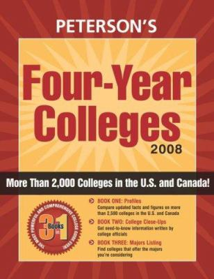 Peterson's Four-Year Colleges 2008