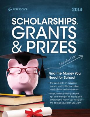 Scholarships, Grants and Prizes 2014 Cover Art
