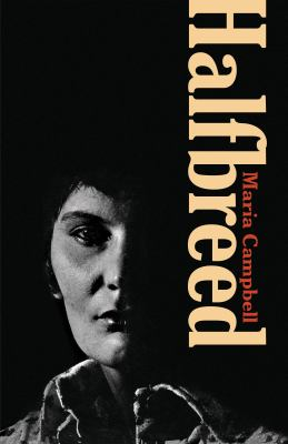 Cover image from Halfbreed, depicting the author's photographic portrait.