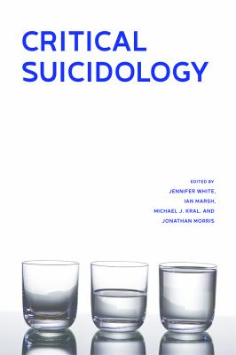 Cover Art for Critical Suicidology by Jennifer White.