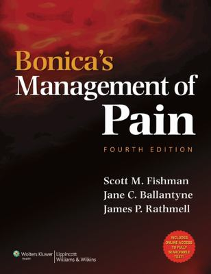 Book Title: Bonica's Management of Pain