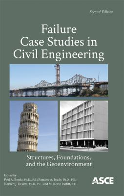 book cover: Failure case studies in civil engineering: structures, foundations, and the geoenvironment